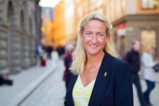 Cecilia Widegren i Gamla Stan
