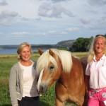 Gunilla Carlsson och Cecilia Widegren