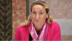 Cecilia Widegren (M) ledde det öppna mötet.